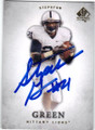 STEPHFON GREEN PENN STATE NITTANY LIONS AUTOGRAPHED ROOKIE FOOTBALL CARD #40914F