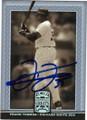 FRANK THOMAS CHICAGO WHITE SOX AUTOGRAPHED BASEBALL CARD #40914J