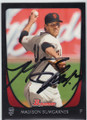 MADISON BUMGARNER SAN FRANCISCO GIANTS AUTOGRAPHED BASEBALL CARD #41014Q
