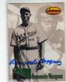 ARMANDO VAZQUEZ NEW YORK CUBANS AUTOGRAPHED BASEBALL CARD #41014R