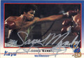 SAOUL MAMBY AUTOGRAPHED BOXING CARD #41114C