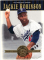 JACKIE ROBINSON BROOKLYN DODGERS UNSIGNED BASEBALL CARD #41514A