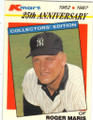 ROGER MARIS NEW YORK YANKEES UNSIGNED VINTAGE BASEBALL CARD #41514M