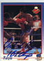 ORLANDO CANIZALES AUTOGRAPHED BOXING CARD #41614D