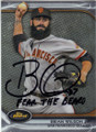 BRIAN WILSON SAN FRANCISCO GIANTS AUTOGRAPHED BASEBALL CARD #41614E