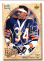 WALTER PAYTON CHICAGO BEARS AUTOGRAPHED FOOTBALL CARD #41614H