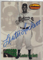 LESTER LOCKETT BALTIMORE ELITE GIANTS AUTOGRAPHED BASEBALL CARD #41614L