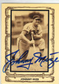 JOHNNY MIZE ST LOUIS CARDINALS AUTOGRAPHED VINTAGE BASEBALL CARD #41614N