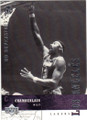 WILT CHAMBERLAIN LOS ANGELES LAKERS AUTOGRAPHED BASKETBALL CARD #42114C