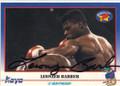 LEONZER BARBER AUTOGRAPHED BOXING CARD #42114K