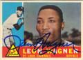 LEON WAGNER ST LOUIS CARDINALS AUTOGRAPHED VINTAGE BASEBALL CARD #42214D