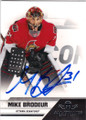 MIKE BRODEUR OTTOWA SENATORS AUTOGRAPHED HOCKEY CARD #42214H
