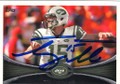 TIM TEBOW NEW YORK JETS AUTOGRAPHED FOOTBALL CARD #42214L