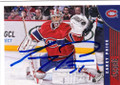 CAREY PRICE MONTREAL CANADIENS AUTOGRAPHED HOCKEY CARD #42214M