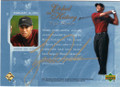 TIGER WOODS AUTOGRAPHED GOLF CARD #42214O