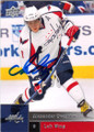 ALEXANDER OVECHKIN WASHINGTON CAPITALS AUTOGRAPHED HOCKEY CARD #42314H