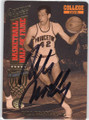 BILL BRADLEY PRINCETON UNIVERSITY AUTOGRAPHED BASKETBALL CARD #42514C