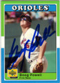 BOOG POWELL BALTIMORE ORIOLES AUTOGRAPHED BASEBALL CARD #42614C
