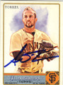 ANDRES TORRES SAN FRANCISCO GIANTS AUTOGRAPHED BASEBALL CARD #42814A