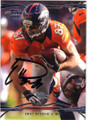 ERIC DECKER DENVER BRONCOS AUTOGRAPHED FOOTBALL CARD #42814C