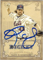 RA DICKEY NEW YORK METS AUTOGRAPHED BASEBALL CARD #42814L