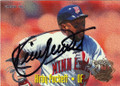 KIRBY PUCKETT MINNESOTA TWINS AUTOGRAPHED BASEBALL CARD #42914L