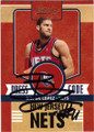 BROOK LOPEZ BROOKLYN NETS AUTOGRAPHED BASKETBALL CARD #42914Q