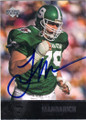 TONY MANDARICH MICHIGAN STATE SPARTANS AUTOGRAPHED FOOTBALL CARD #42914S