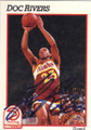 DOC RIVERS ATLANTA HAWKS AUTOGRAPHED BASKETBALL CARD #43014E