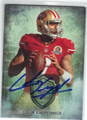 COLIN KAEPERNICK SAN FRANCISCO 49ers AUTOGRAPHED FOOTBALL CARD #50114F