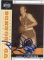 BILLY CUNNINGHAM PHILADELPHIA 76ers AUTOGRAPHED BASKETBALL CARD #50214E