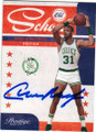CEDRIC MAXWELL BOSTON CELTICS AUTOGRAPHED BASKETBALL CARD #50314C