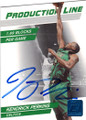 KENDRICK PERKINS BOSTON CELTICS AUTOGRAPHED & NUMBERED BASKETBALL CARD #50314O