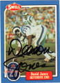 DEACON JONES LOS ANGELES RAMS AUTOGRAPHED VINTAGE FOOTBALL CARD #50514B