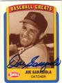JOE GARAGIOLA ST LOUIS CARDINALS AUTOGRAPHED BASEBALL CARD #50514C