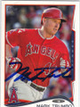 MARK TRUMBO LOS ANGELES ANGELS OF ANAHEIM AUTOGRAPHED BASEBALL CARD #50514M