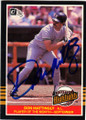 DON MATTINGLY NEW YORK YANKEES AUTOGRAPHED VINTAGE BASEBALL CARD #50614P
