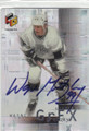 WAYNE GRETZKY LOS ANGELES KINGS AUTOGRAPHED HOCKEY CARD #50614T