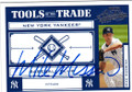 MIKE MUSSINA NEW YORK YANKEES AUTOGRAPHED & NUMBERED BASEBALL CARD #50714D