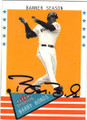 BARRY BONDS SAN FRANCISCO GIANTS AUTOGRAPHED BASEBALL CARD #50914A