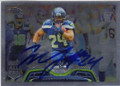 MARSHAWN LYNCH SEATTLE SEAHAWKS AUTOGRAPHED FOOTBALL CARD #50914B