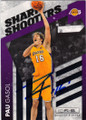 PAU GASOL LOS ANGELES LAKERS AUTOGRAPHED & NUMBERED BASKETBALL CARD #50914E