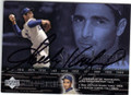 SANDY KOUFAX LOS ANGELES DODGERS AUTOGRAPHED BASEBALL CARD #51014J