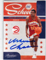 MAURICE CHEEKS ATLANTA HAWKS AUTOGRAPHED BASKETBALL CARD #51214K
