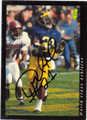 DESMOND HOWARD UNIVERSITY OF MICHIGAN WOLVERINES AUTOGRAPHED ROOKIE FOOTBALL CARD #51414F