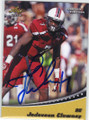 JADEVEON CLOWNEY UNIVERSITY OF SOUTH CAROLINA AUTOGRAPHED ROOKIE FOOTBALL CARD #52314C