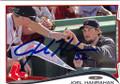 JOEL HANRAHAN BOSTON RED SOX AUTOGRAPHED BASEBALL CARD #52314D