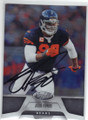 JULIUS PEPPERS CHICAGO BEARS AUTOGRAPHED FOOTBALL CARD #52414A