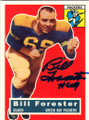 BILL FORESTER GREEN BAY PACKERS AUTOGRAPHED FOOTBALL CARD #52714E