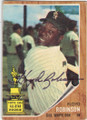 FLOYD ROBINSON CHICAGO WHITE SOX AUTOGRAPHED VINTAGE ROOKIE BASEBALL CARD #52814B